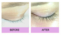 Lashes london half set of individual lash extensions
