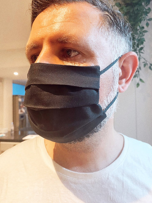 SELF MADE MONDMASKER MANNEN - zwart