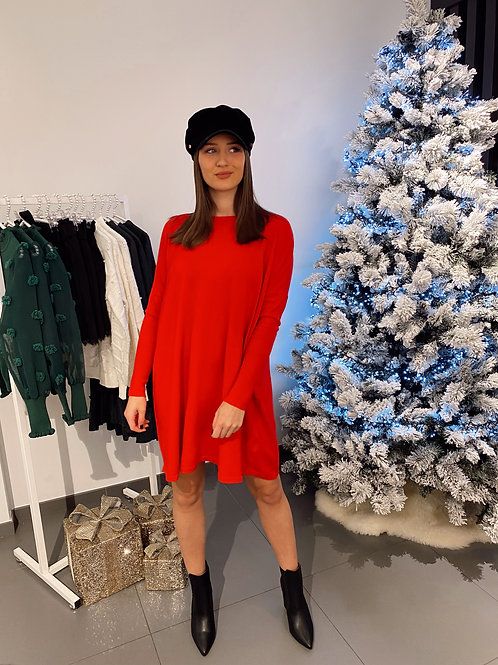 LOST CONTROL DRESS/BLOUSE - RED