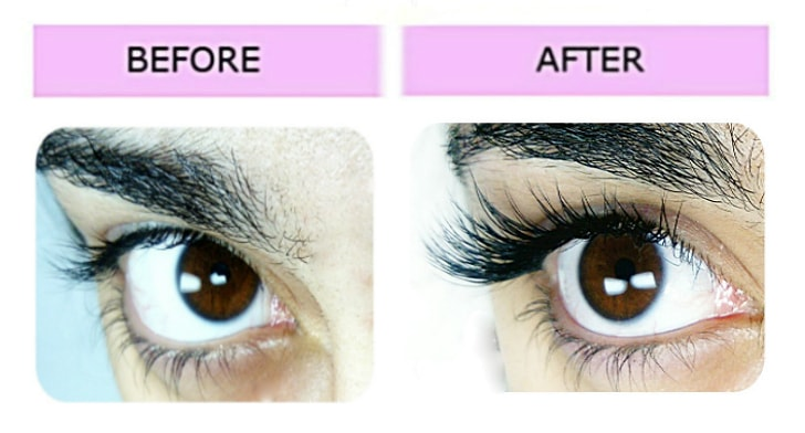 Lashes London volume extensions result