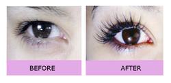 Doll eye hybrid volume lashes london