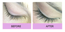 Lashes-London natural cashmere extensions