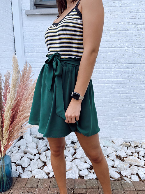 ALWAYS PERFECT SKIRT - GREEN