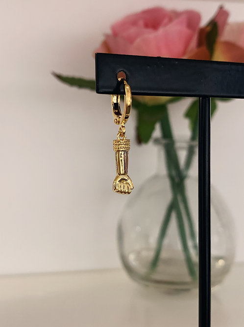 ONE PIECE EARRING - GOOD - GOLD