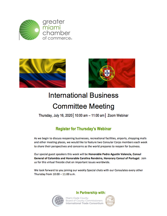 International Business Committee Meeting with GMCC - Reopen For Business
