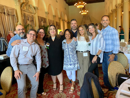 Coral Gables Chamber of Commerce Interactive Lunch at the Biltmore Hotel