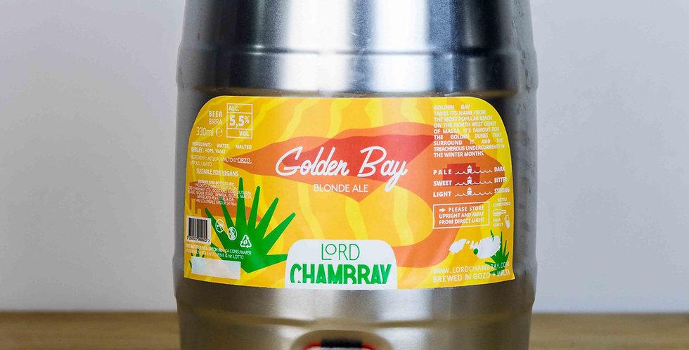 Golden Bay 5 L Party Keg