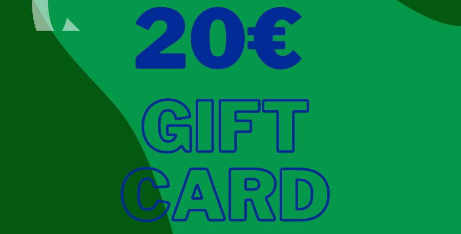 Online Shop Gift Card 20€