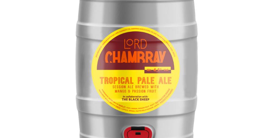 Tropical Pale Ale 5 L Party Keg