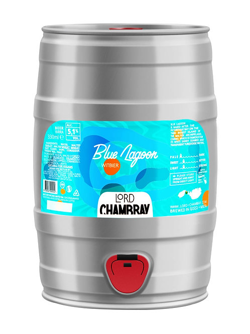 Blue Lagoon 5 L Party Keg