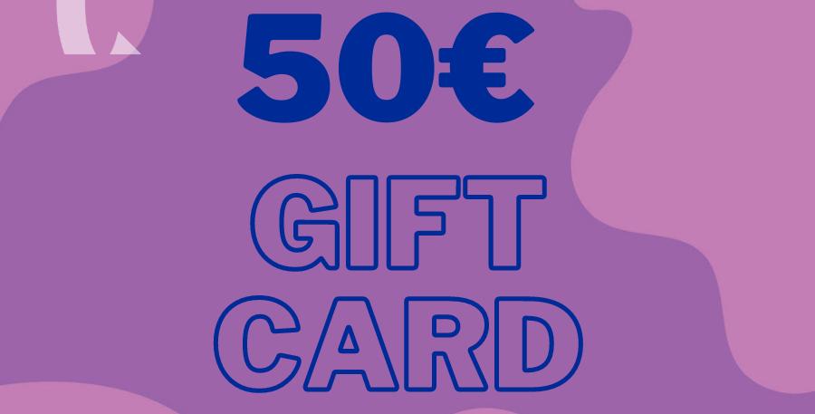 Online Shop Gift Card 50€