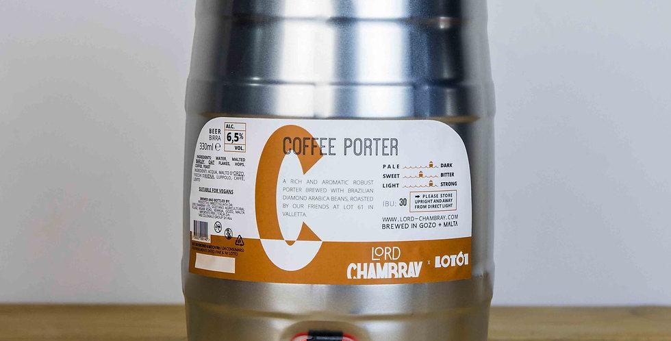 Coffee Porter 5 L Party Keg