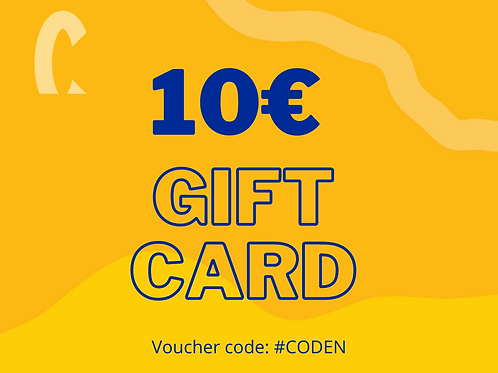 Online Shop Gift Card 10€