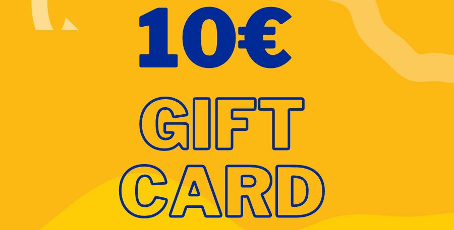 Online Shop Gift Card 10€