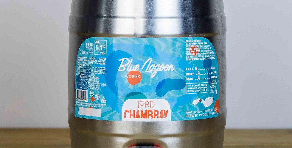 Blue Lagoon 5 L Party Keg