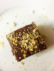 Chocolate Terrine with walnut praline