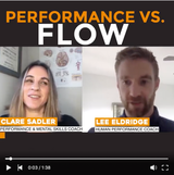 Podcast with my old colleague and friend Lee Eldrige from The Athlete Tribe, talking about the difference between flow and peak performance.