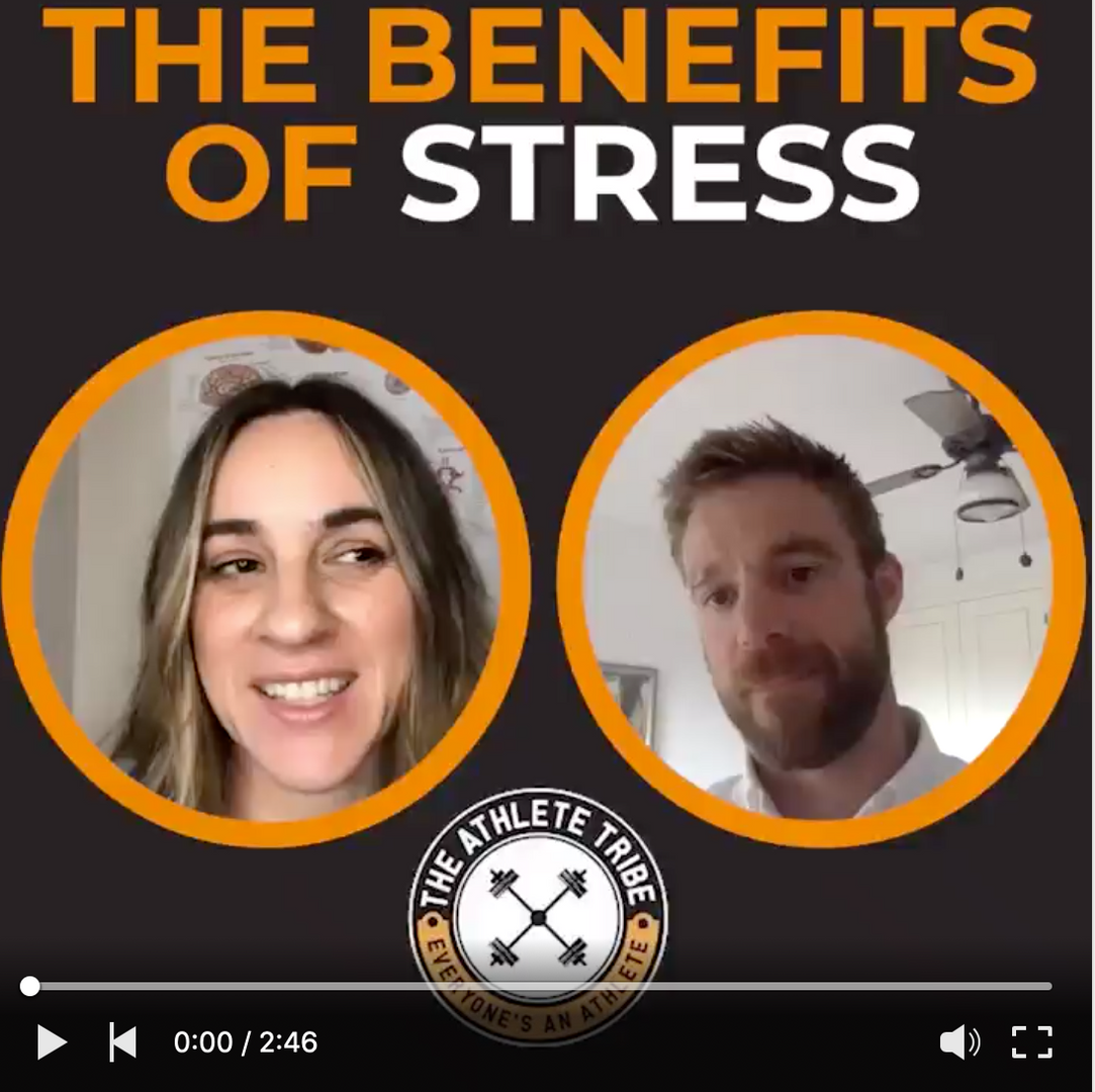 The benefits of stress podcast
