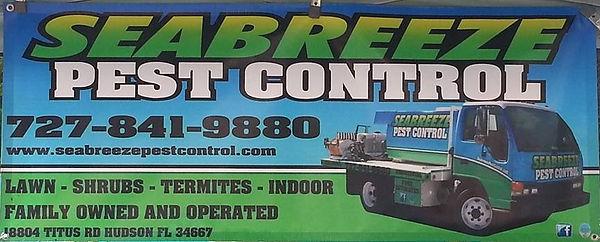 Pest Control Banner