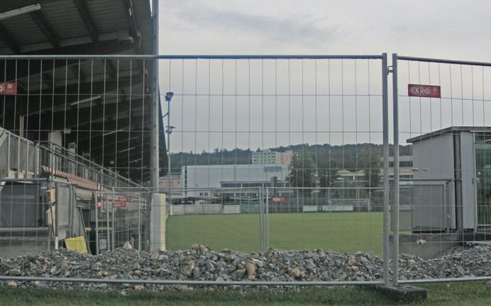 Umbau: derzeitiger Eingangsbereich