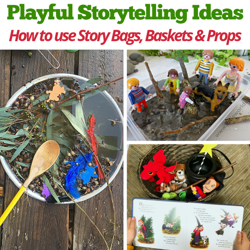 Create your own story basket