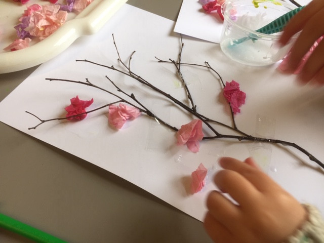Cherry Blossom Spring craft
