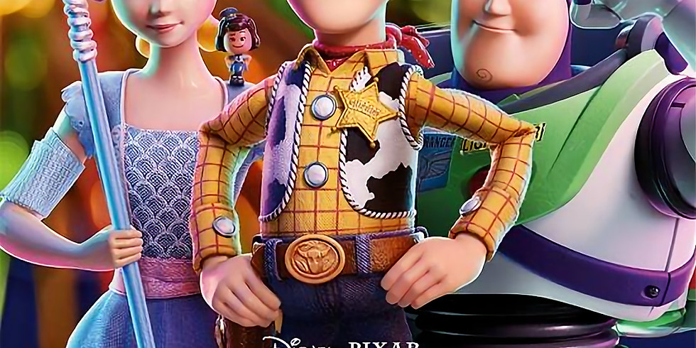Claverdon Children's Cinema Club - Toy Story 4