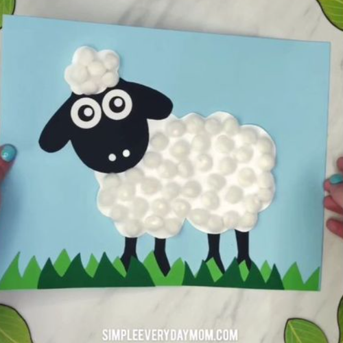 Create your own sheep picture!