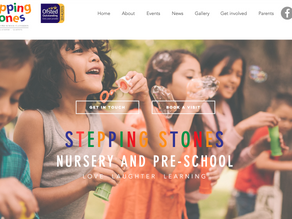 Stepping Stones nursery and pre-school launches new website