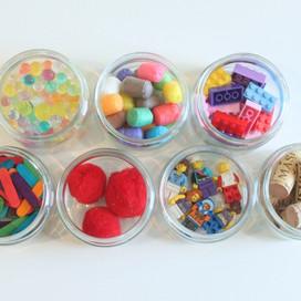 Estimation jars maths game