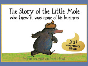 The Story of the Little Mole – overcoming toilet anxiety