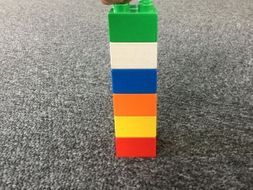 Build a Duplo tower