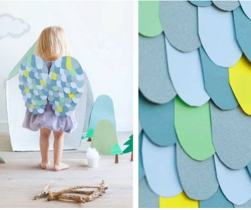 Makeyour own butterfly wings