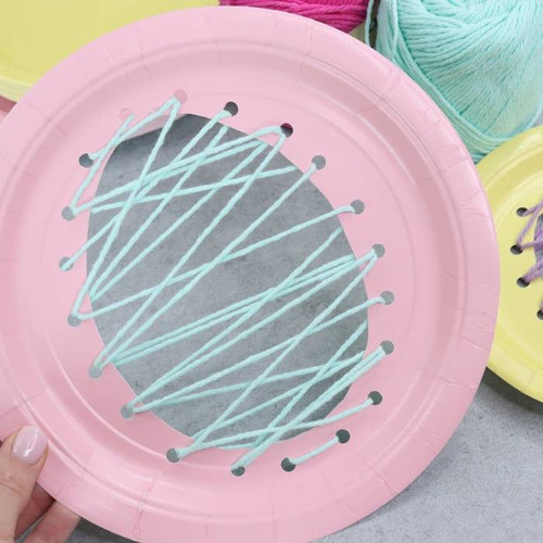 Paper plate craft activity