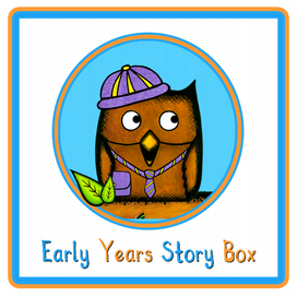 Positivity game from Early Years Story Box
