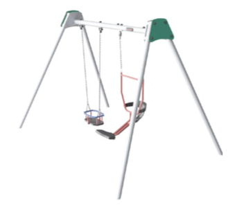 Multi-swing set with You & Me seat and Cradle seat