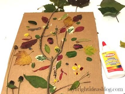 Create a nature board