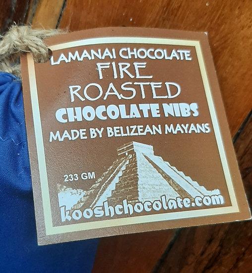 Cacao nibs, fire roasted 2 OZ