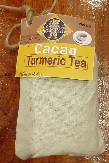 Chocolate turmeric tea 2 OZ