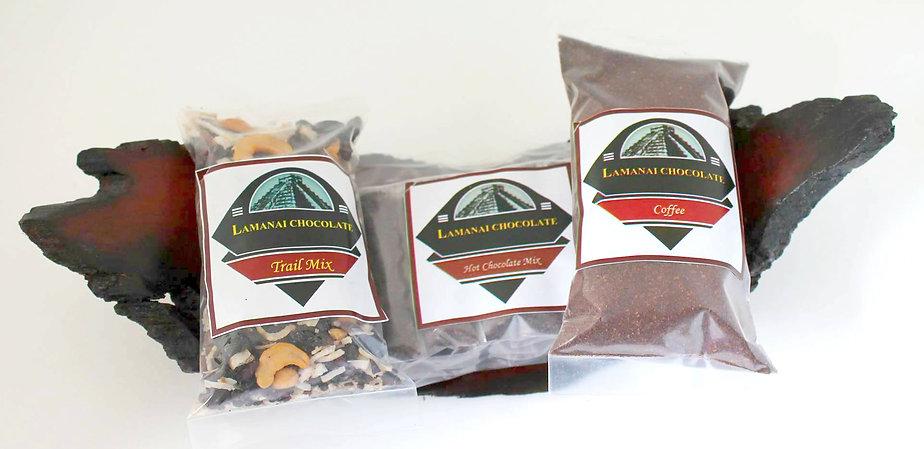 Lamanai Chocolate products