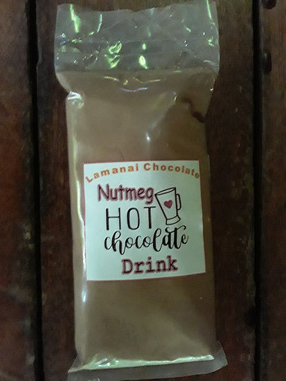 Nutmeg chocolate drink