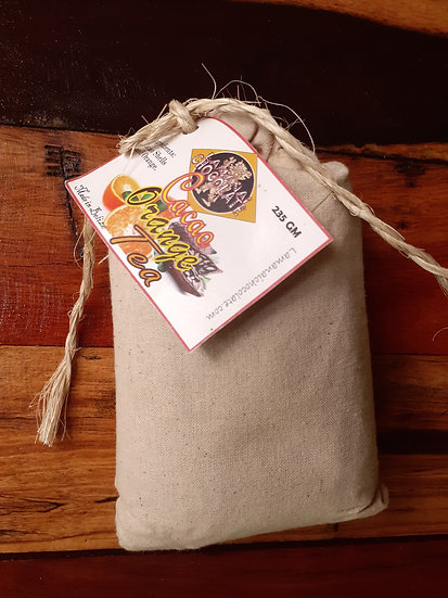 Orange peel cacao tea 1/2 lb