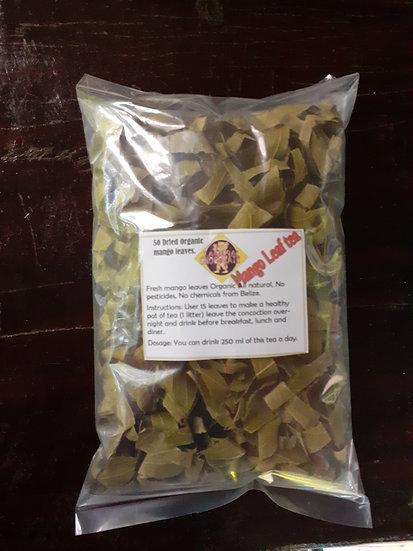 Mango tea leaves