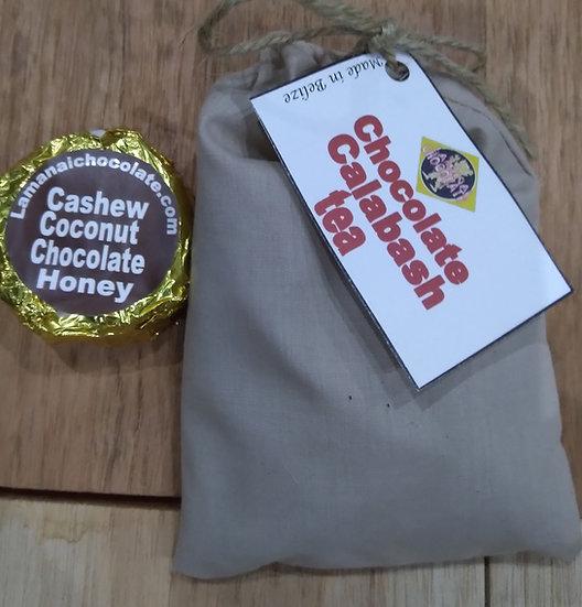 Respritory infection tea/choc. Honey coconut cashew