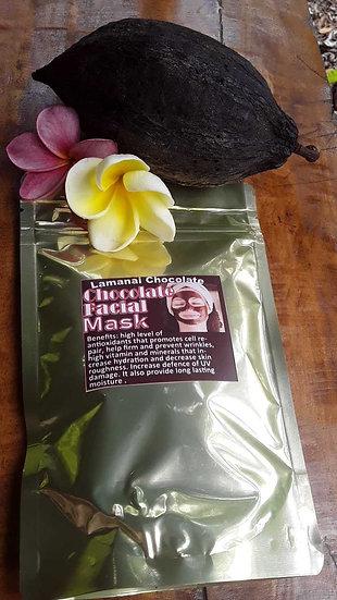 Chocolate face mask moisturizer