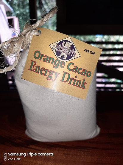 Energy drink, orange flavor 1/2 lb