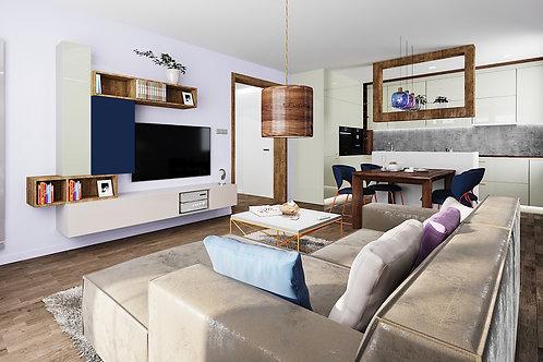 Mieszkanie HEKSAGON 70,8m2