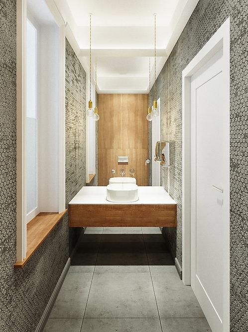Toaleta OLIVE 3,2m2