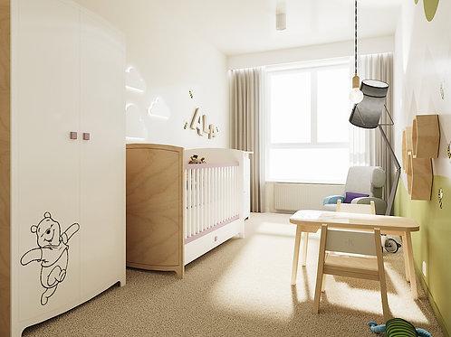 Pokój dziecka HEKSAGON 11m2