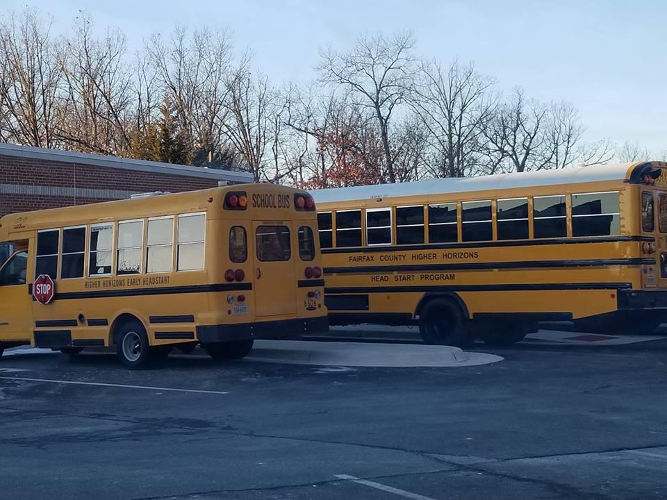 Buses at Fairfax